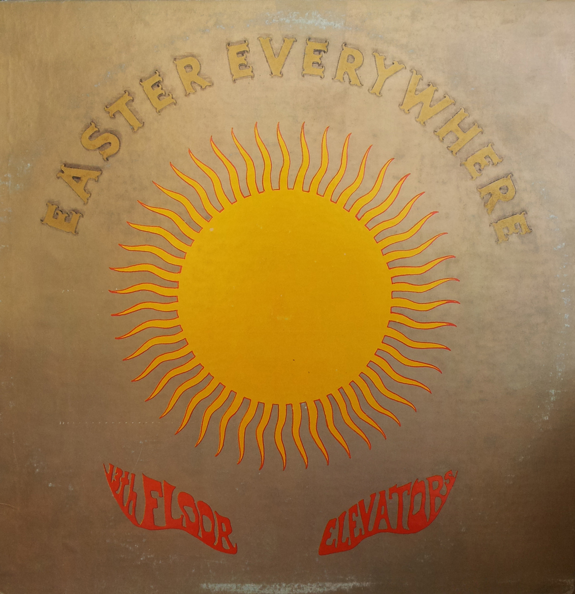 13TH FLOOR ELEVATORS   Easter Everywhere 1968 LP