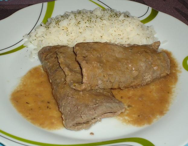 Miss cocina filetes de ternera con salsa de naranja y - Filetes de ternera con salsa ...