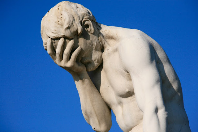 Statue of Facepalming