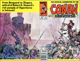 Conan Universo Marvel Comics