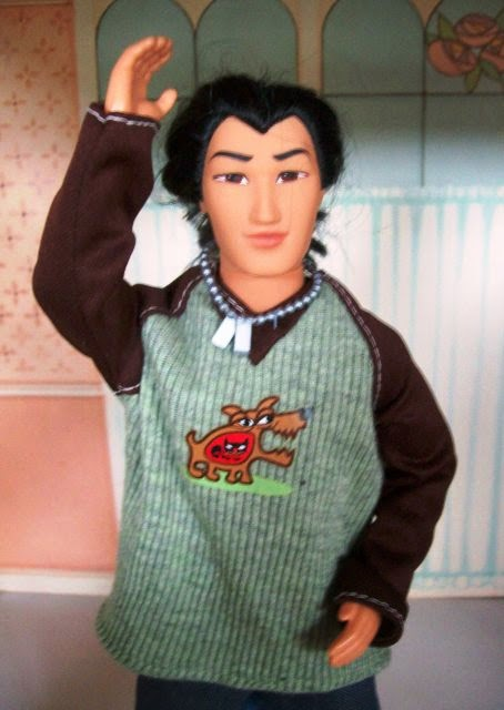 Mattel Captain Li Shang from Mulan