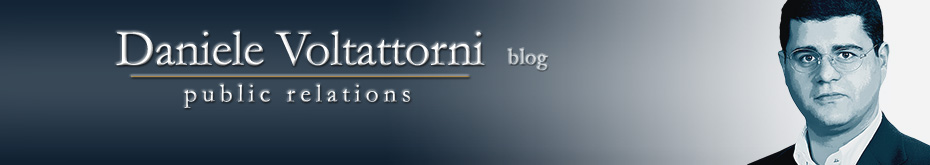 Daniele Voltattorni's Blog | Communications | Public Relations | Project Manager