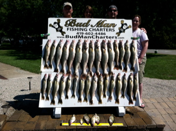 Lake erie walleye fishing reports august 2013 for Odnr fishing report