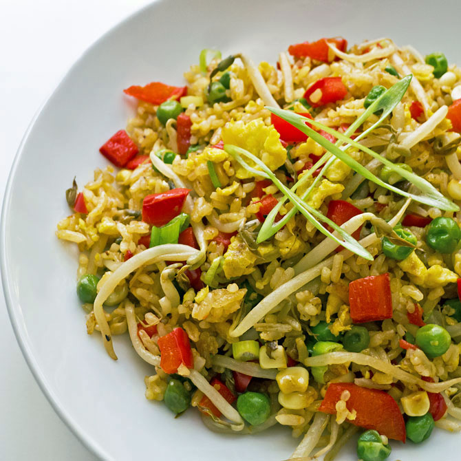 Cooking Weekends: Vegetable Fried Rice