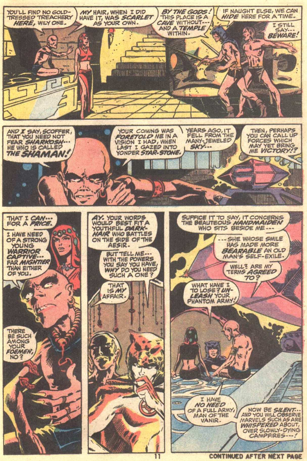 Conan the Barbarian (1970) Issue #22 #34 - English 9