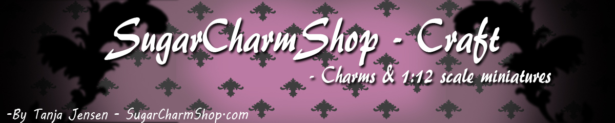SugarCharmShop Craft; Polymer clay, jewelry and 1:12 scale miniatures