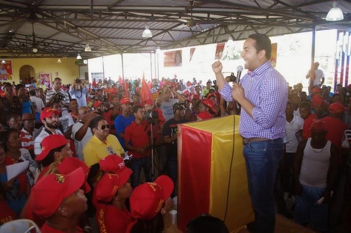 Metz deplora situación de  desempleo en Villa Altagracia