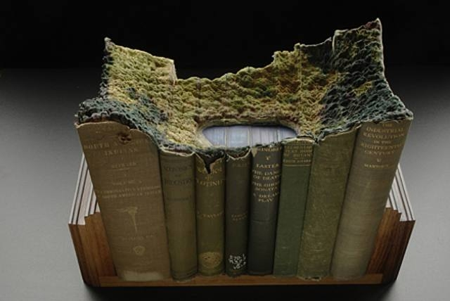 Amazing Books Carving By Guy Laramee Funnilogy