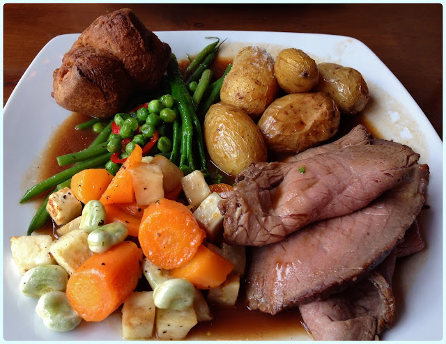 Whim Wham Cafe, Manchester - Roast Beef