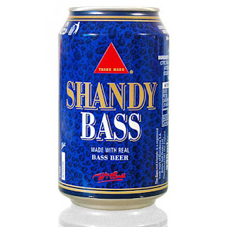 shandy bass beer can