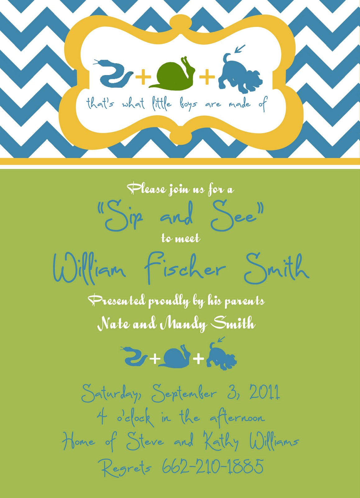 MG Paperworks: Baby Shower invitations