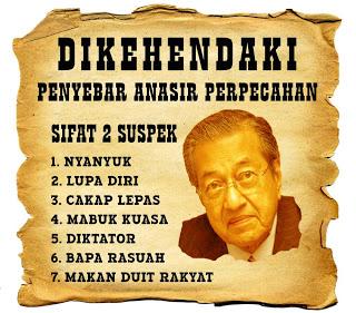 Bekas Perdana Menteri, Tun Dr. Mahathir Mohamad