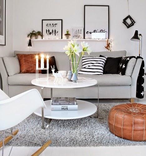 10 trucos para agrandar visualmente el sal n decoraci n - El mueble salones pequenos ...