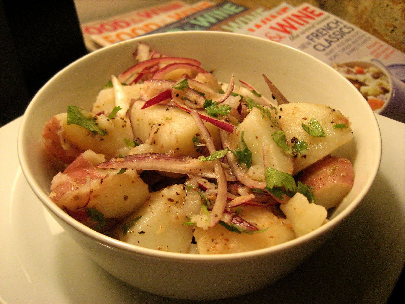 Eat, Drink, and Be Merry...: Potato Salad w/Roasted Cumin ...