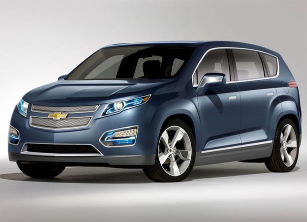 Chevrolet Volt MPV5 Concept Style Show