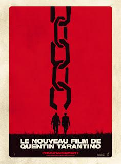 Django Unchained first poster, Tarantino, Jamie Foxx
