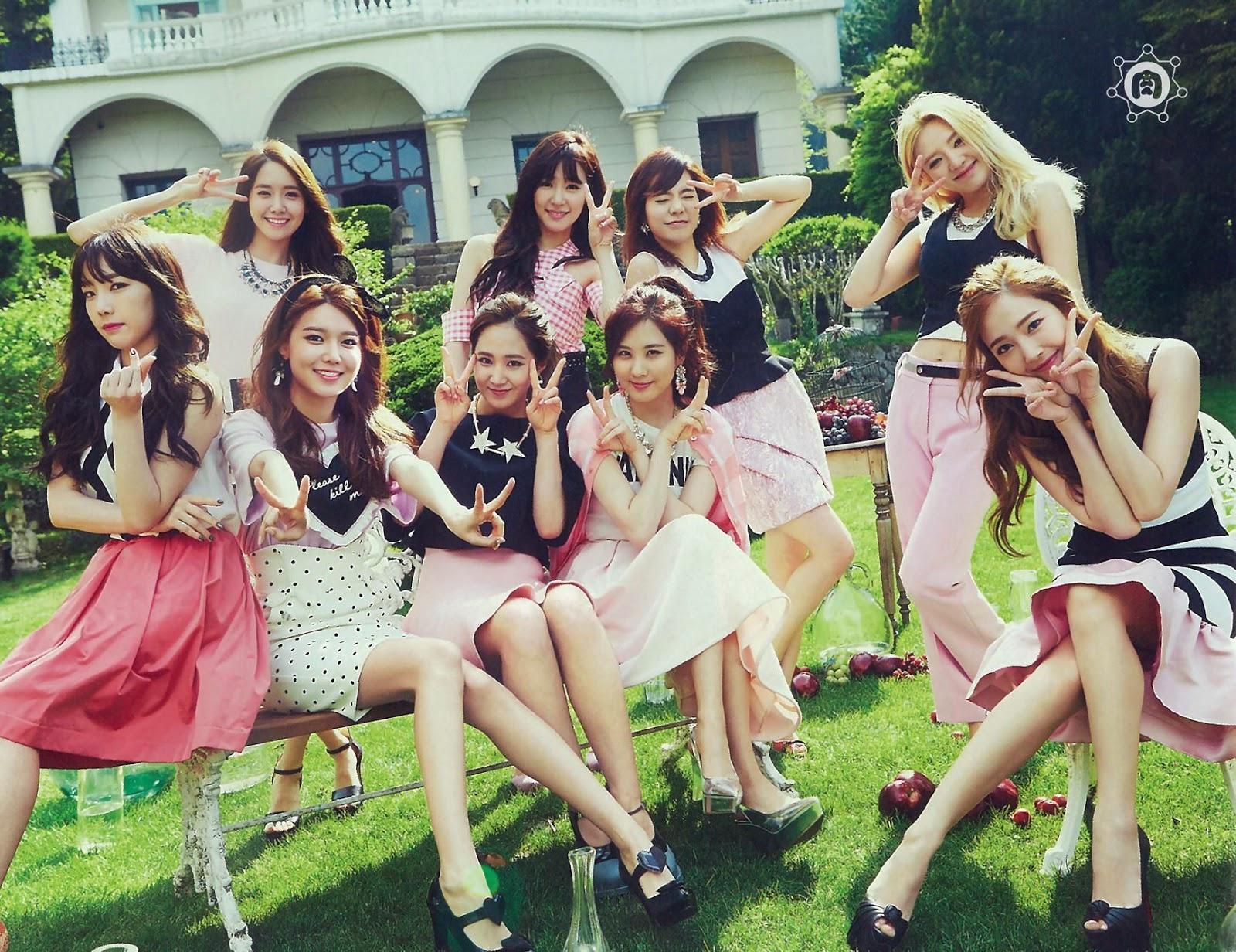 SNSD Girls Generation The Best Scan Wallpaper HD 2