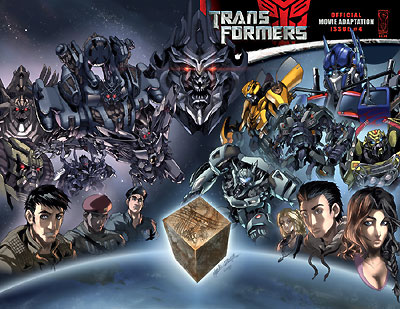 Titan Books Transformers Graphic Novel (From Comics 75-80) End Of The Road