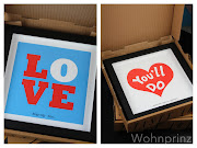 Geschenk Ideen zum Valentinstag. Fab.de Naughty or Nice (love bilder rahmen gerahmt herzen herz wohnprinz valentinstag geschenk)