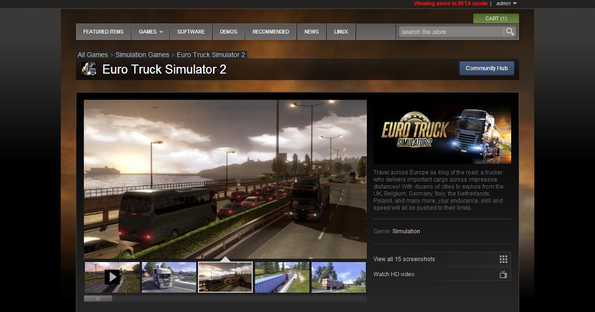 Euro Truck Simulator 2 é lançado no Steam | Euro Truck ...