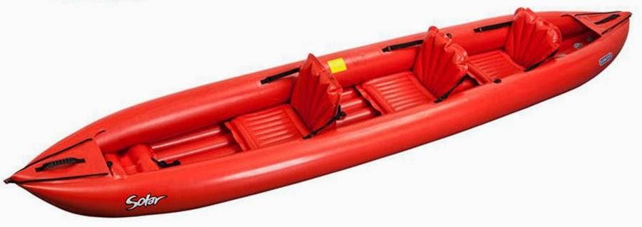Petit bateau et grandes navigations un kayak gonflable bord de votre voilier - Canoe gonflable 4 places ...