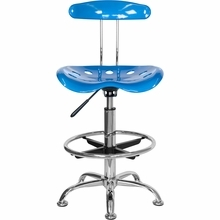 Blue Drafting Chair