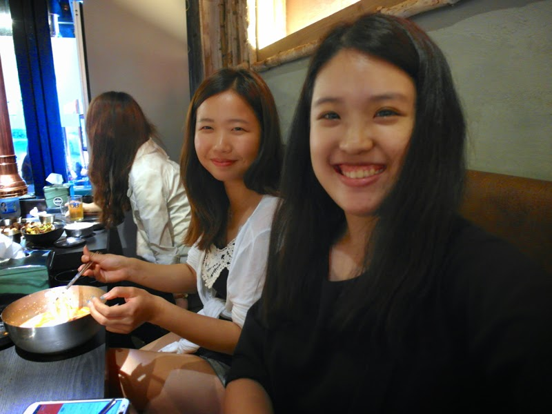 Ewha University Summer Studies Travel Seoul 401 Restaurant Haha RunningMan hongdae lunarrive blog singapore