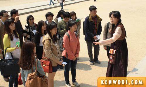 korea seoul palace guided tour
