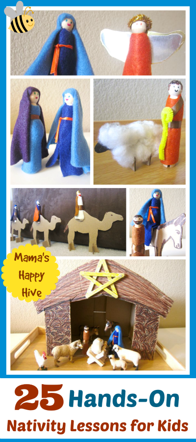 http://www.mamashappyhive.com/nativity-lessons-for-kids/