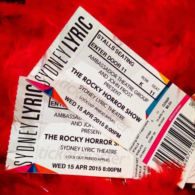 Rocky Horror Sydney - Rocky Horror the Musical at Sydney Lyric Theatre, The Star