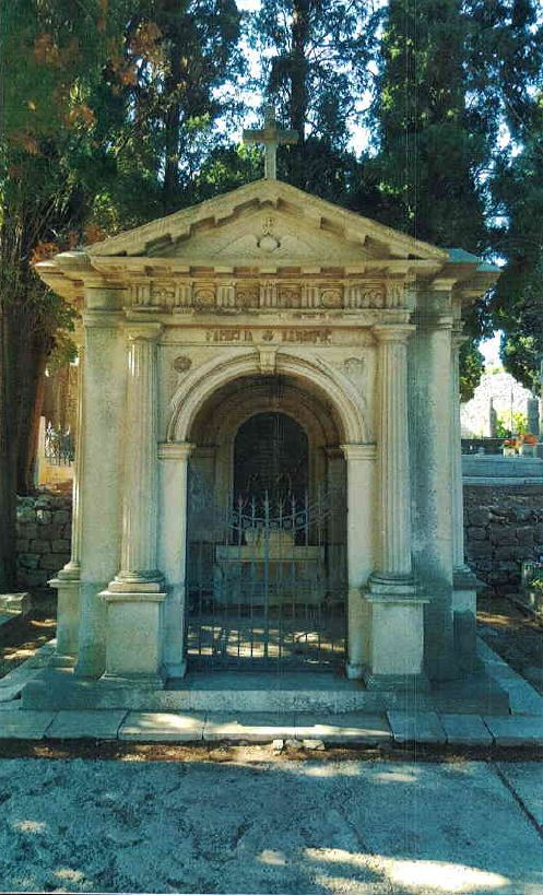 Cemetery Boninovo (Dubrovnik, Croatia)