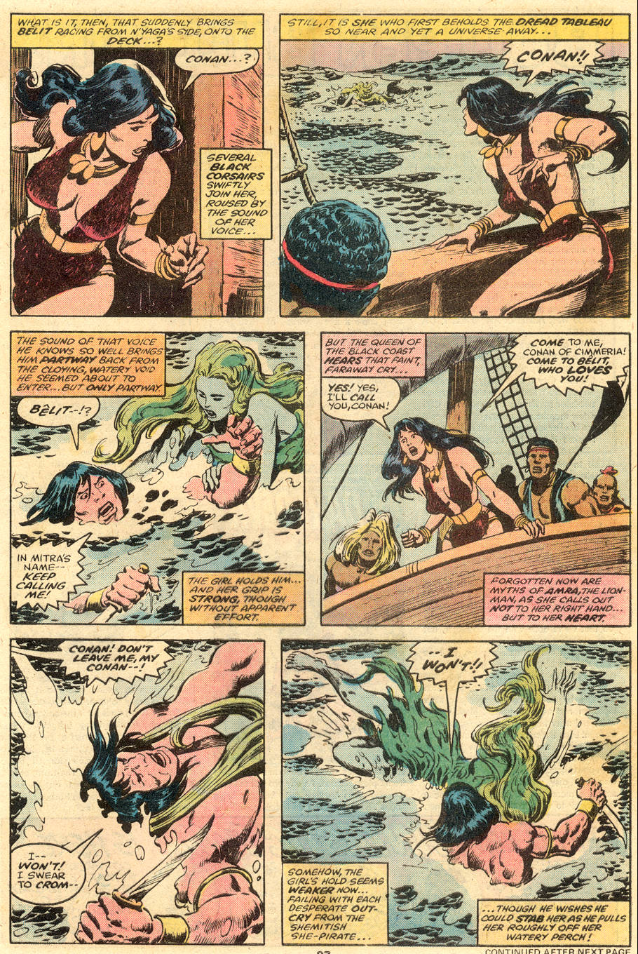 Conan the Barbarian (1970) Issue #98 #110 - English 16