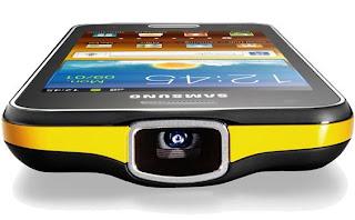 Samsung hadirkan ponsel smartphone kamera dengan fitur proyektor Samsung Galaxy Beam