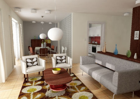 Retro Inspired Home Decor : Dreams and Wishes: How to create a Retro interior style...