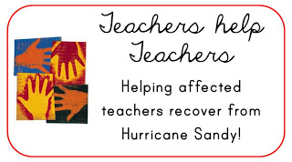 Teachers Help Teachers - Hurricane Sandy Fundraiser www.hungergameslessons.com