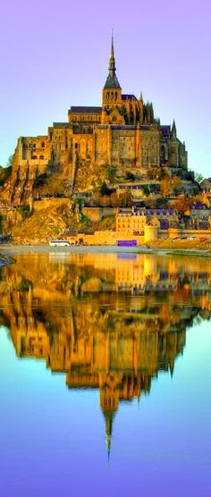 Mont-Saint Michel in Normandy, France.