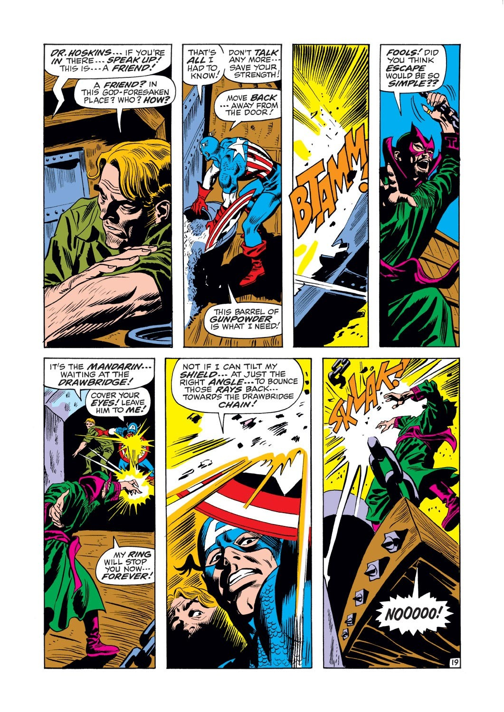Captain America (1968) Issue #125 #39 - English 19