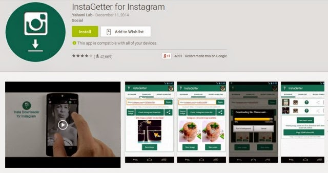 Cara Download Foto dan Video Instagram di Android Mudah