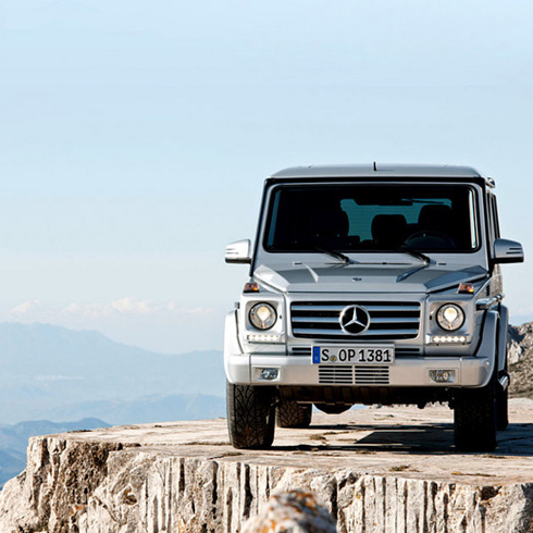 Mercedes benz g class image gallery the automotive world for Mercedes benz that looks like a jeep