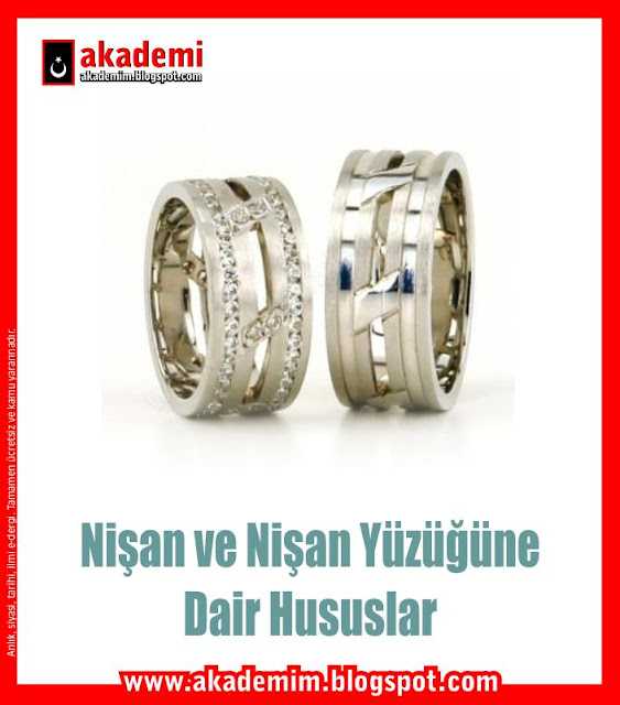 Nişan ve Nişan Yüzüğüne Dair Hususlar