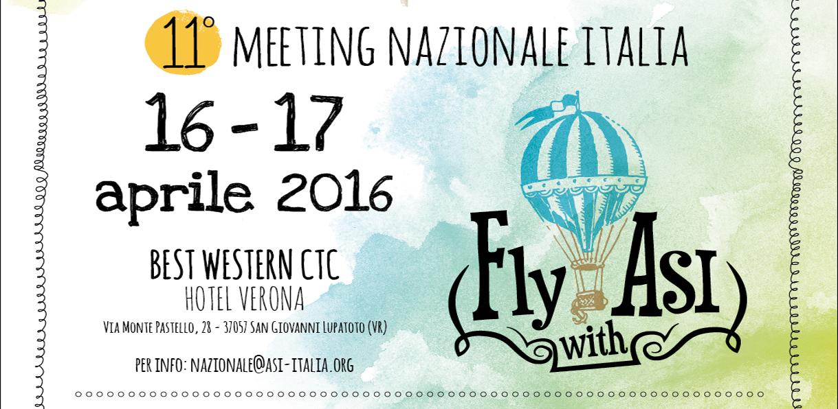 MEETING NAZIONALE ASI 2016: VERONA