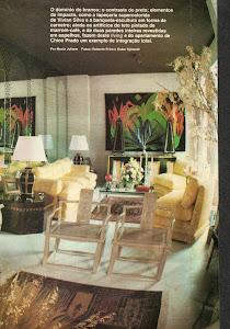 Interior da revista Casa e Decoração.