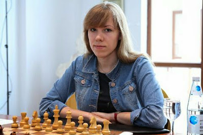 Echecs : la joueuse russe Olga Girya - Photo Chess.com