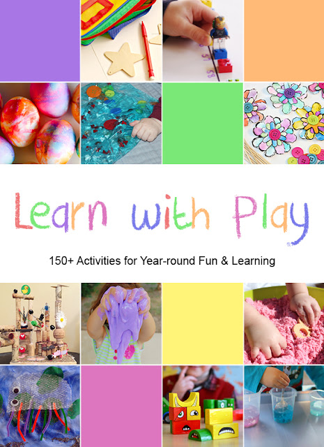 Learn with Play: 150+ Activities for year-round fun and learning for kids.  An amazing resource for parents, teachers, grandparents, child care workers.  This would be a great gift idea for birthdays!