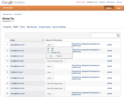 Enhancing Google Analytics Access Controls - Analytics Blog