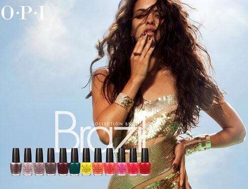 esmaltes de uñas OPI Brazil colección primavera verano