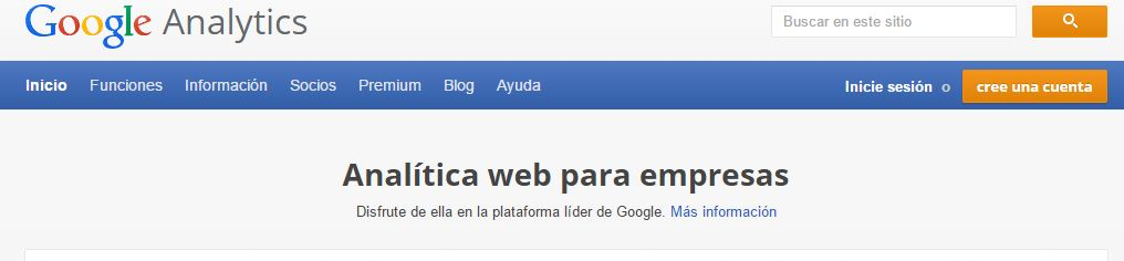 Pasos de Google Analytics 1