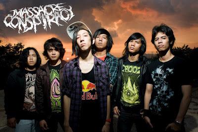 Massacre Conspiracy Band Melodic Metalcore Kuala Lumpur Malaysia Foto Images Logo Wallpaper