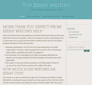 college essay writing format