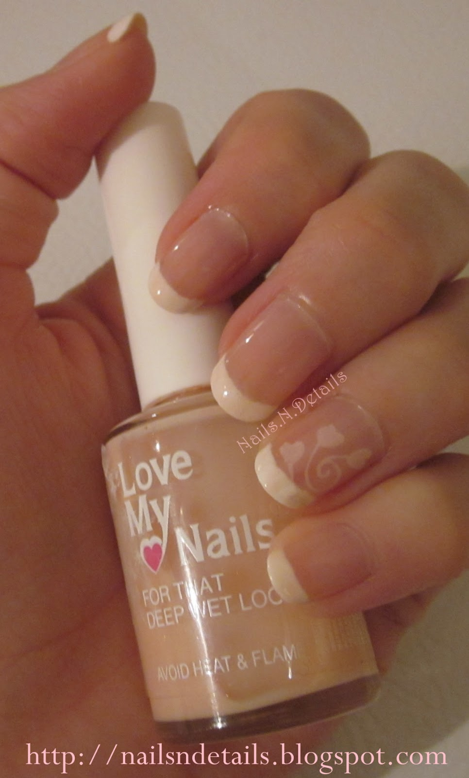 Nails.N.Details: French Hearts
